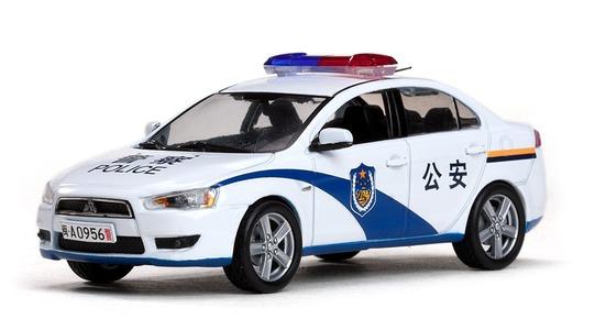 Mitsubishi Lancer VIII EX China Police Car (Gongan) Vitesse 1:43 Vitesse-29309