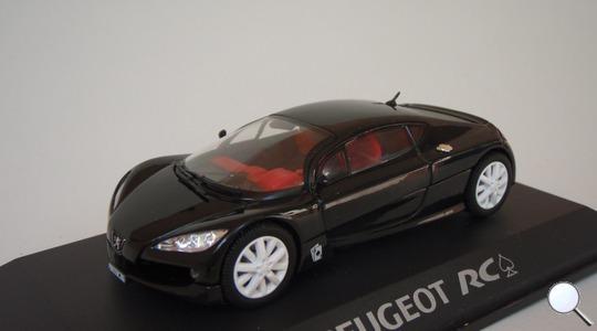 Peugeot RC Pique Concept Car NOREV 1:43 NOREV-472703