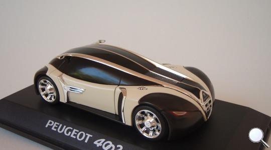 peugeot 4002 concept car norev 1:43 norev-472705 (price 10 €)