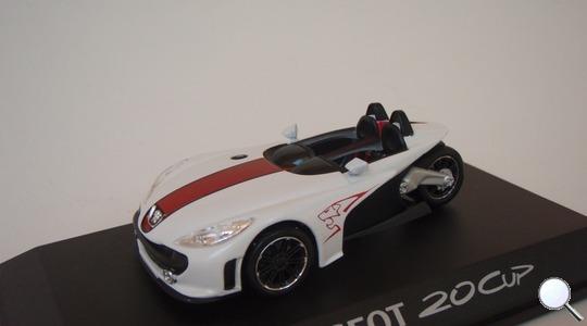 Peugeot 20 Cup Concept Car NOREV 1:43 NOREV-472725