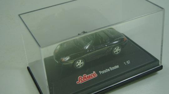 Porsche Boxster Schuco 1:87 [Segunda mano, perfecto estado, Caja original]