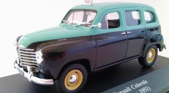 Renault Colorale taxi Lisboa Altaya 1:43 Altaya-taxi0002