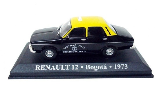 Renault 12 taxi Bogota Altaya 1:43 Altaya-taxi0043 [Blister]