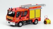 Renault Midlum 220 double cabine-FPTL Camiva Alufire3 Eligor 1:43 Eligor-114709
