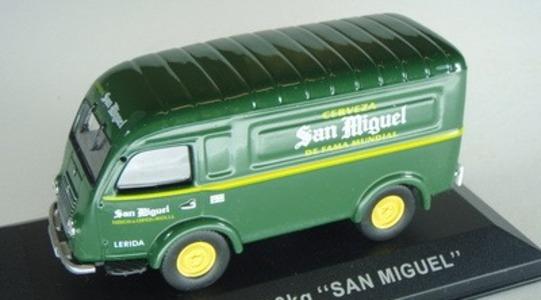 Renault 1000 Kg San Miguel IXO MODELS 1:43 [Segunda mano, Caja dañada]