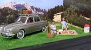 Renault Ondine diorama picknick IXO MODELS 1:43 IXO-Ondine