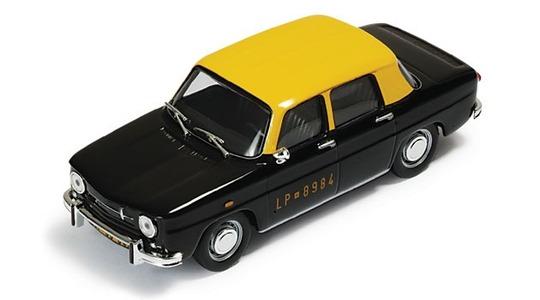 Renault R8 taxi Santiago de Chile IXO MODELS 1:43 ixo-cixj000034