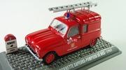 Renault R4 fourgonnette sapeurs-pompiers de nice Universal Hobbies 1:43 R4nice