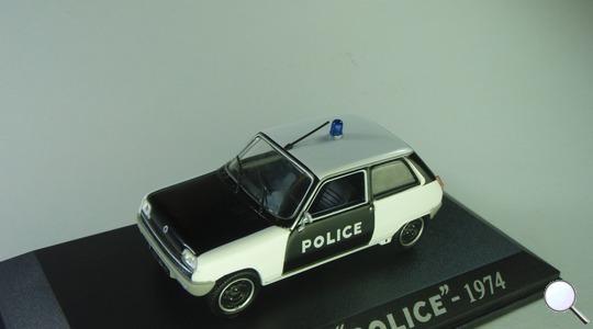 Renault R5 Police Universal Hobbies 1:43