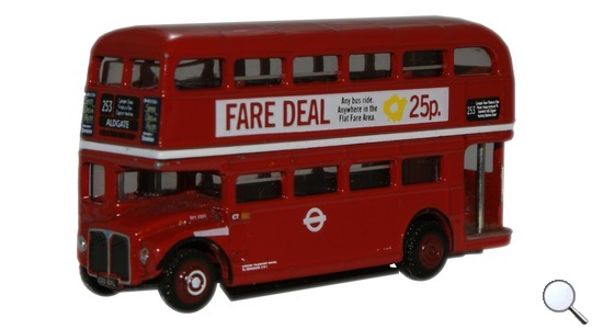 Routemaster London Transport RM1000 Bus Oxford Diecast 1:148 NRM011