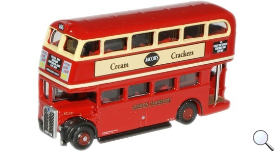 Routemaster London Transport RT Bus Oxford Diecast 1:148 NRT001