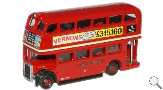 Routemaster London Transport RTL Bus Oxford Diecast 1:148 NRTL001