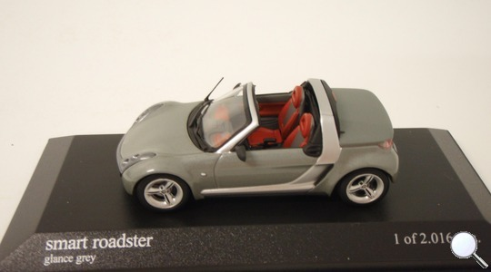 Smart Roadster Minichamps 1:43 400032131