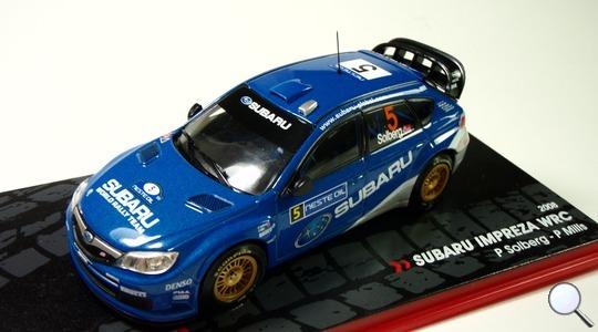 Subaru Impreza WRX (GE) Neste oil Solberg-Mills IXO MODELS 1:43 IXO-Impreza2008