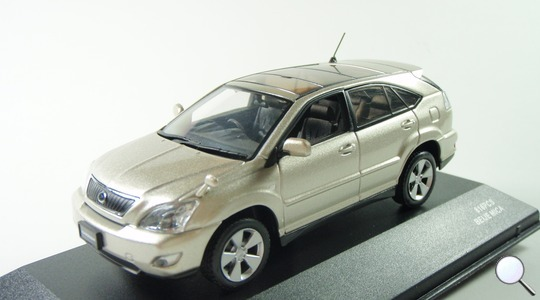 Toyota Harrier II (XU30) airs J-Collection 1:43 jc42009be