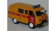 Uaz 3909 Gas Emergency Car DeAgostini 1:43 DeAgostini-3909 [Blister]