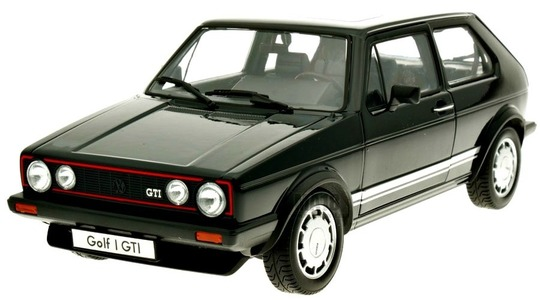 Volkswagen Golf I (Typ 17) GTI Welly 1:18 Welly-18039W-b