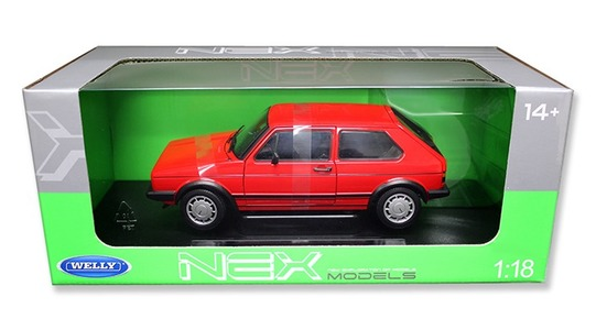 Volkswagen Golf I (Typ 17) GTI Welly 1:18 Welly-18039W-r