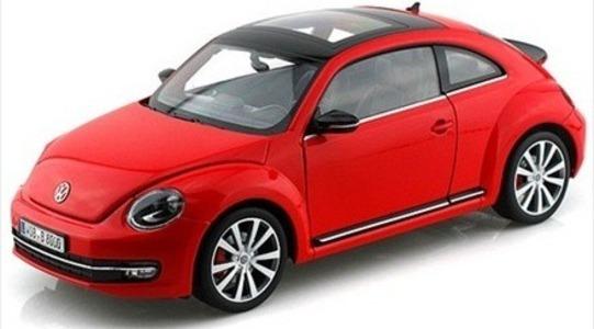 Volkswagen New Beetle II Welly 1:18 Welly-18042rt