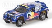 Volkswagen Touareg Gordon Zitzewitz Paris-Dakar Minichamps 1:43 436055317