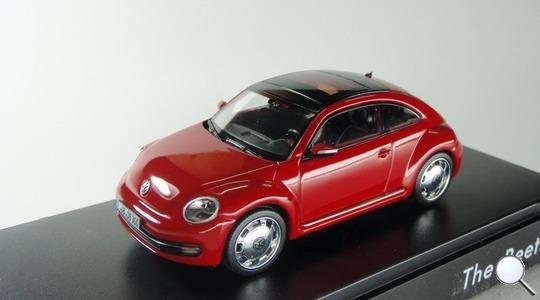 Volkswagen New Beetle II Schuco Volkswagen Dealer 1:43 4039378445577